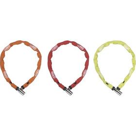 ABUS Web 1500/110 Łańcuch rowerowy z zamkiem, kolorowy